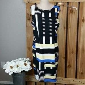 Connected Apparel Sheath Dress